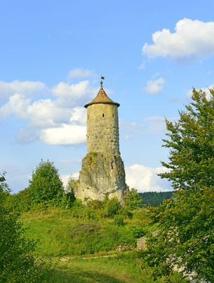 Waischenfeld - old caste ruin in Bavaria, Germany© Pecold - Fotolia.com